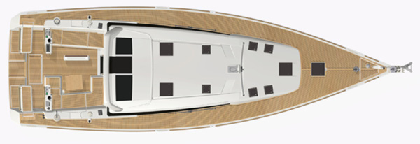Vendita barche pozzetto comodo benteau sense 50
