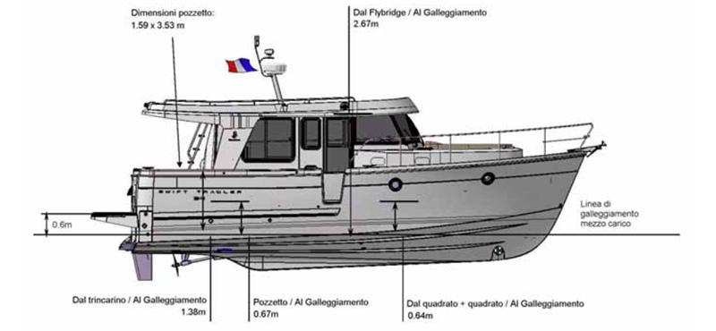 beneteau Swift_Trawler 34 Esterno