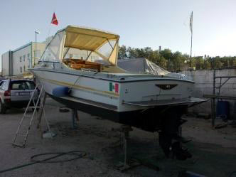 la mia barca per pesca subacquea