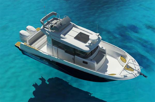 Beneteau Barracuda 9 Barca d aPesca con FLY