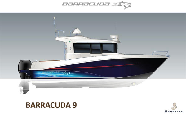 Barracuda 9 Beneteau novità 2012
